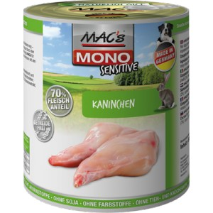 MACs Dog MONO Sensitive KRÁLÍK 400g